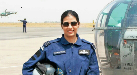 The Story of a Woman Helicopter Pilot