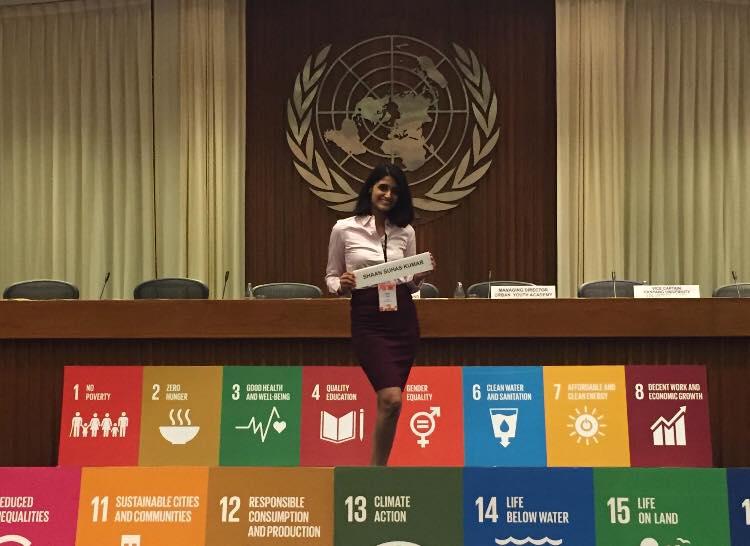 Shaan Suhas Kumar- a Global Climate Ambassador