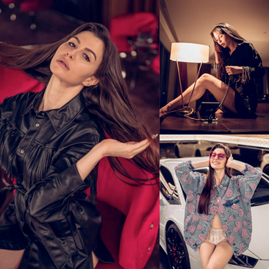 Giorgia Andriani's looks are breath-taking in her recent Photoshoot, Check Out!!